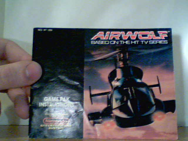 Airwolf - Instruction Manual