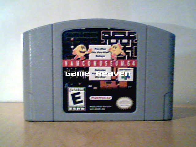 Namco Museum 64 (Pac-Man, Ms. Pac-Man, Galaga, Galazian, Pole Position, Dig Dug)
