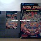 High Speed: Worlds #1 Pinball - NES - Boxed