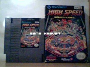 High Speed: Worlds #1 Pinball - NES - Boxed