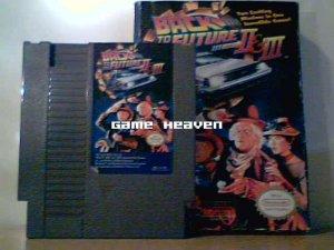 Back To The Future II & III - NES - Boxed