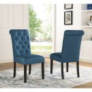 Evelin Tufted Upholstered Parsons Dining Chair (Set of 2)