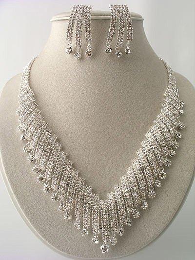 """Marilyn"" Designer Necklace/Earring Set Reg $119.99"
