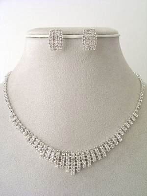 Evening/Prom Necklace/Earring Set Reg $44.99