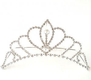 """Queen"" 4"" Rhinestone Tiara Reg $49.99"