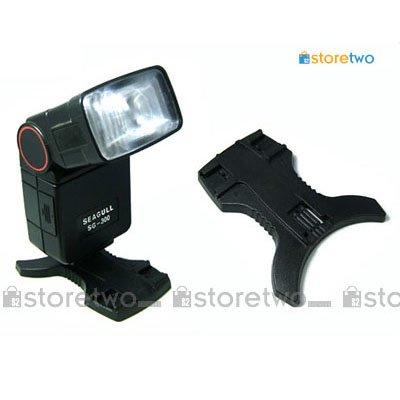 JJC Flash Stand for Canon, Nikon, Pentax, Sigma, Sunpak, Vivitar, Metz, etc