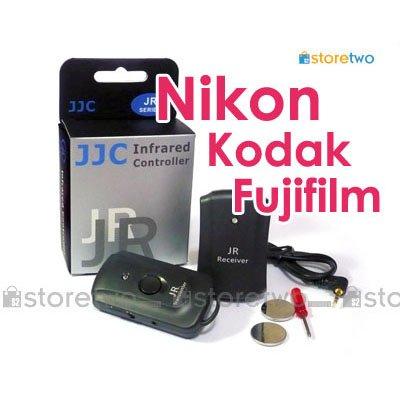 JJC 3 in 1 Wireless Remote Shutter Control for Nikon, Kodak Fujifilm Camera