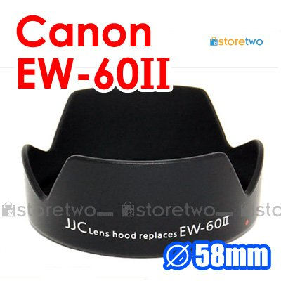 EW-60II - JJC Lens Hood for Canon EF 24mm f/2.8