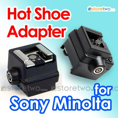 Seagull 4-pin Hot Shoe Flash Adapter with PC Sync Socket SC-5 for Sony / Konica Minolta as FS-1100