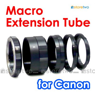 Macro Close Up Extension Tube Set for Canon Camera