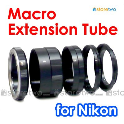 Macro Close Up Extension Tube Set for Nikon Camera