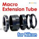 Macro Close Up Extension Tube Set for Nikon Camera