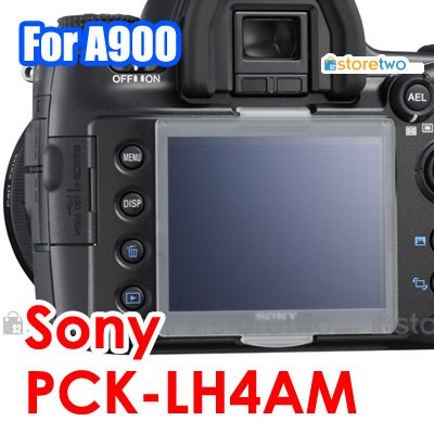 LCD Cover PCK-LH4AM - JJC LCD Cover for Sony Alpha DSLR-A900, DSLR-A850