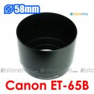 ET-65B - JJC Lens Hood for Canon EF 70-300mm f/4-5.6 IS USM, f/4.5-5.6 DO IS USM