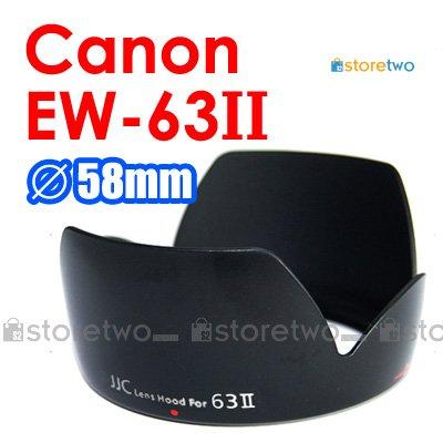 EW-63II - JJC Lens Hood for Canon EF 28-105mm f/3.5-4.5 II USM, f/4.0-5.6 USM, EF 28mm f/1.8 USM