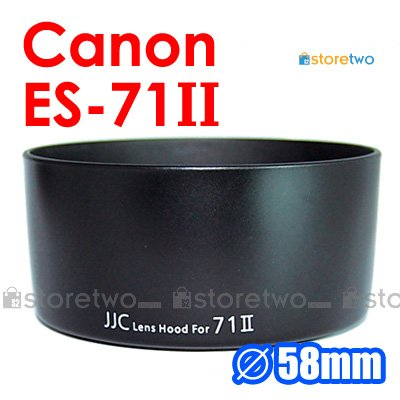 ES-71II - JJC Lens Hood for Canon EF 50mm f/1.4 USM