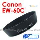 EW-60C - JJC Lens Hood for Canon EF-S 18-55m, 28-80mm, 28-90mm