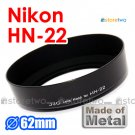 HN-22 - JJC Lens Hood for Nikon Ai 35-70mm f/3.5S, Zoom Ai 35-135mm f/3.5-4.5S, AF Micro 60mm f/2.8D