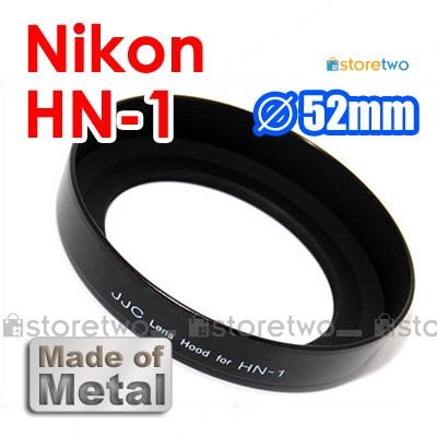 HN-1 - JJC Lens Hood for Nikon IX-Nikkor 20-60mm, AF 24mm f/2.8D, 28mm f/2, PC-Nikkor 28mm f/3.5