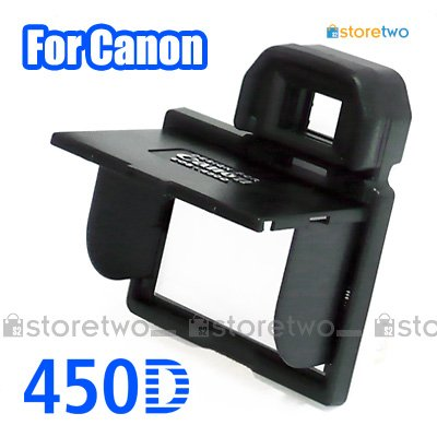 LCD Pop-up Screen Hood Shade for Canon 450D