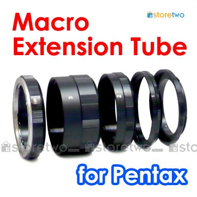Macro Close Up Extension Tube Set for Pentax Camera