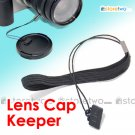 JJC Lens Cap Keeper with Elastic Band