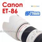 ET-86 White - JJC Lens Hood for Canon EF 70-200mm f/2.8L IS USM