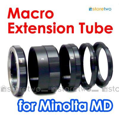Macro Close Up Extension Tube Set for Minolta MD Camera