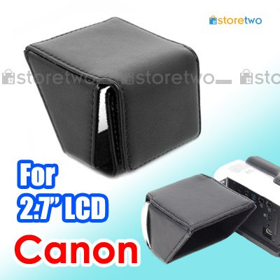 """JJC LCD Hood for Canon VIXIA LEGRIA Camcorder with 2.7"""" LCD Screen"""
