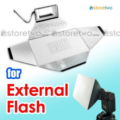 JJC Camera External Flash Light Bounce Diffuser Softbox