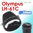 LH-61C - JJC Lens Hood for Olympus Zuiko Digitral ED 14-42mm M.Zuiko 14-150mm