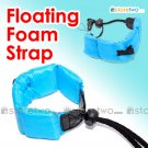 Floating Foam Strap for Waterproof Cameras Samsung Fujifilm Pentax Sony (Blue)