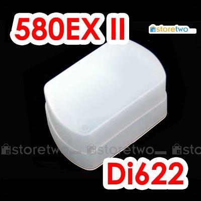 Flash Bounce Diffuser Cap for Canon Speedlite 580EX II, 580EX Nissin Di622