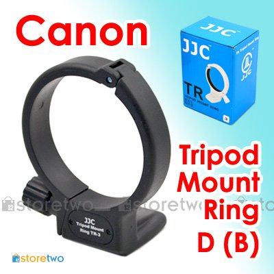JJC Tripod Mount Ring D (B) for Canon EF 100mm f/2.8L Macro IS USM