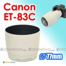 ET-83C White - JJC Lens Hood for Canon EF 100-400mm f/4.5-5.6L IS USM