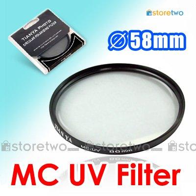 Tianya Multi Coated Ultraviolet MC UV Filter 58mm