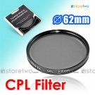 MASSA Circular Polarizer CPL Filter 62mm