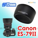 ES-79II - JJC Lens Hood for Canon EF 85mm f/1.2L II USM 72mm