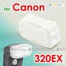 Flash Bounce Diffuser Cap for Canon Speedlite 320EX