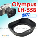 LH-55B - JJC Lens Hood for Olympus M.ZUIKO DIGITAL ED 9-18mm f/4.0-5.6 12-50mm f/3.5-6.3 EZ