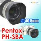 PH-SBA 40.5mm - JJC Lens Hood for Pentax smc Q 02 Standard Zoom 5-15mm f/2.8-4.5