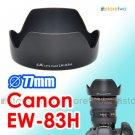 EW-83H - JJC Lens Hood for Canon EF 24-105mm f/4L IS USM 77mm