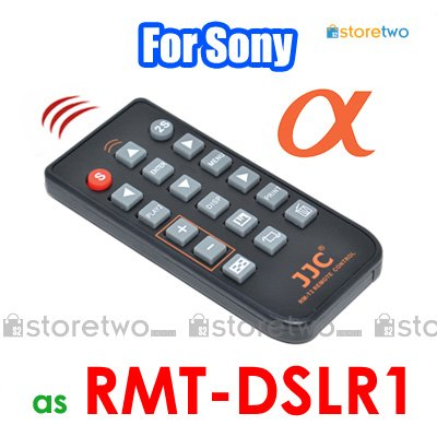 RMT-DSLR1 - JJC Infrared Wireless Commander Remote for Sony Alpha Camera
