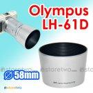 LH-61D - JJC Silver Lens Hood for Olympus Zuiko Digital ED 40-150mm f/4.0-5.6 MZD ED 40-150mm R