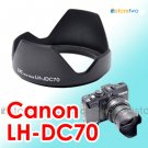 LH-DC70 - JJC Lens Hood for Canon PowerShot G1 X G1X
