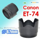 ET-74 Tulip Flower - JJC Lens Hood for Canon EF 70-200mm f/4L IS USM, f/4L USM