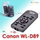 WL-D89 - JJC Wireless Controller for Canon VIXIA LEGRIA Camcorder