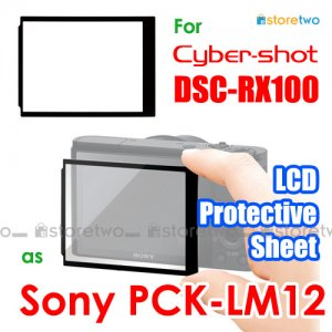 PCK-LM12 - JJC LCD Screen Protective Sheet Cover for Sony Cyber-shot DSC-RX100 II