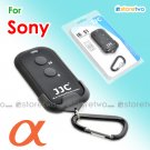 JJC Wireless Shutter Remote Control with Carabiner and Holder for Sony Camera