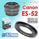 ES-52 - JJC Lens Hood for Canon EF-S 24mm EF 40mm f/2.8 STM